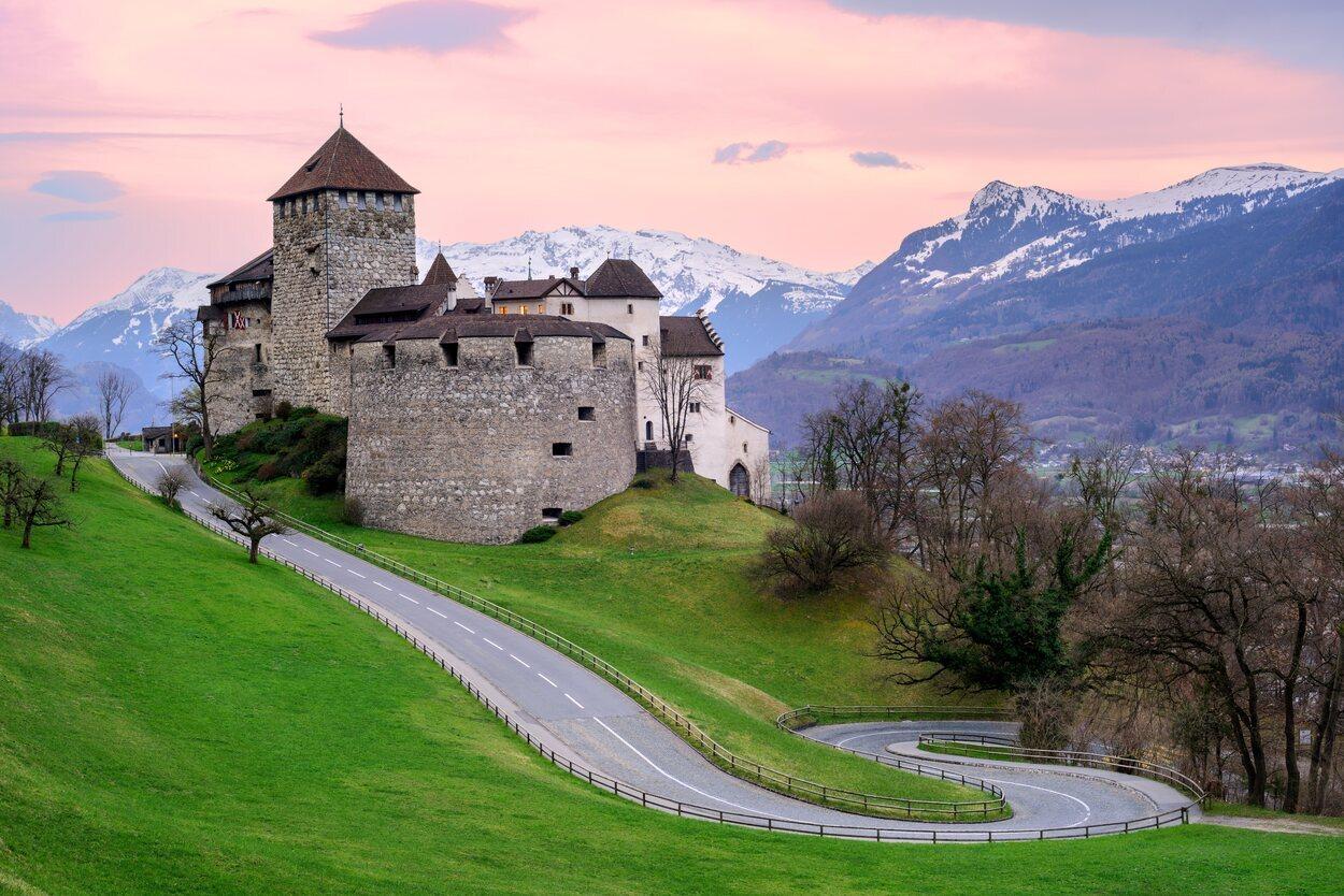 Castillo de Vaduz, residencia oficial del Príncipe de Liechtenstein