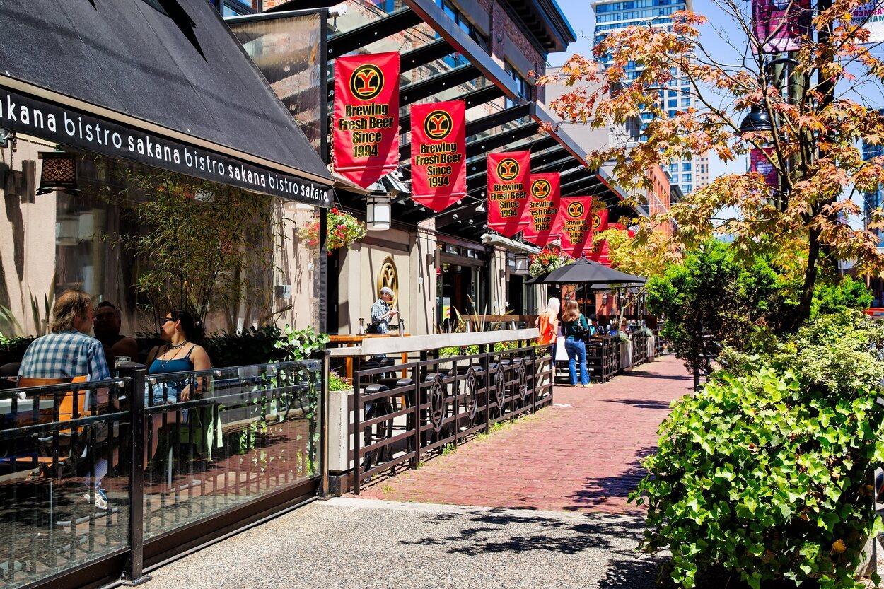En el barrio de Yaletown se puede disfrutar de la gastronomía japonesa