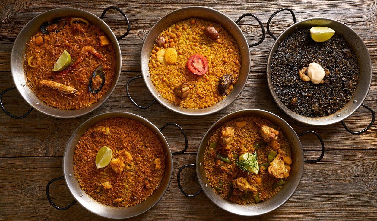 La paella es el plato estrella de la Comunidad Valenciana