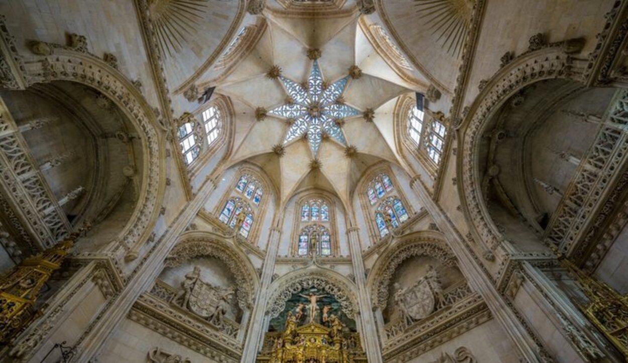 Interior de la Catedral de Burgos, donde está enterrado el Cid