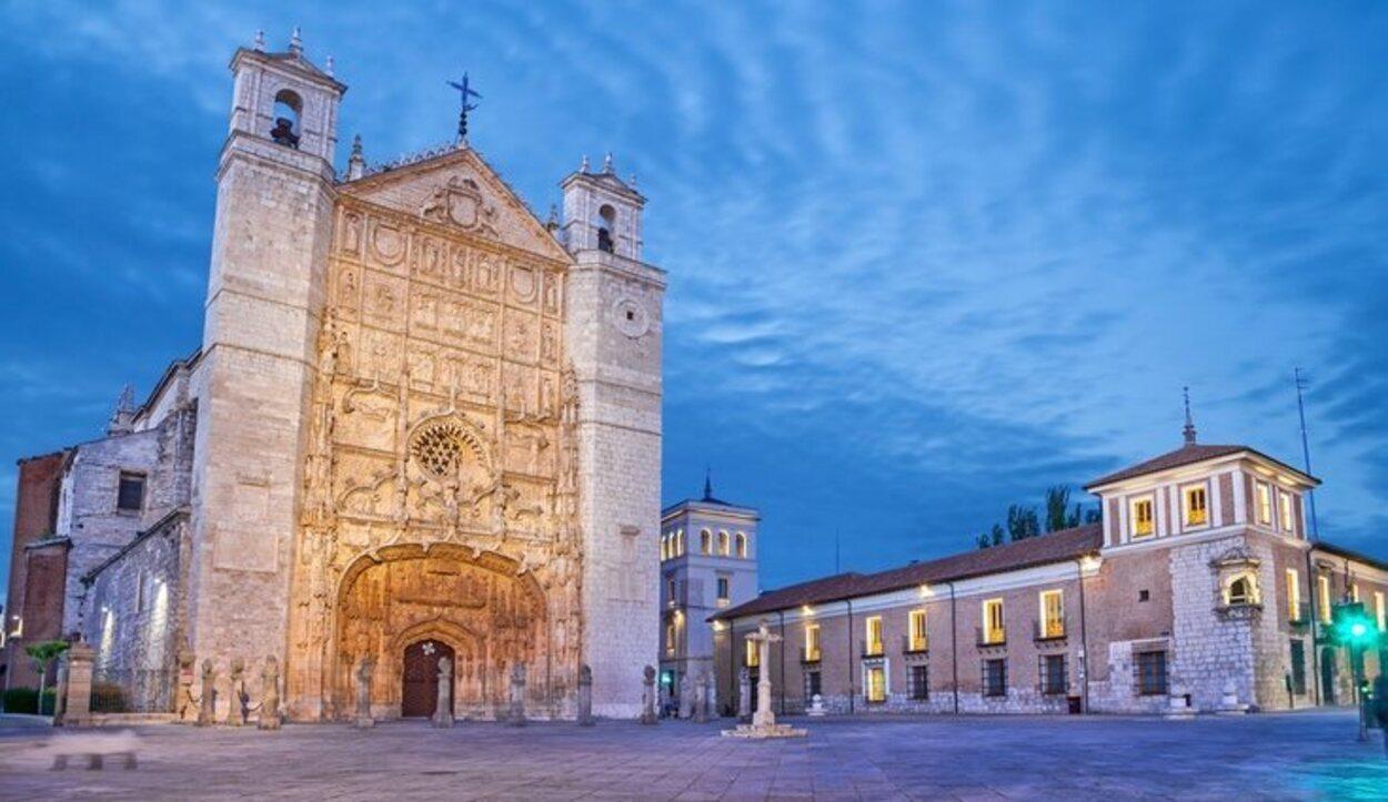 En Valladolid pasó temporadas Carlos V, siendo aquí donde nació su hijo Felipe II