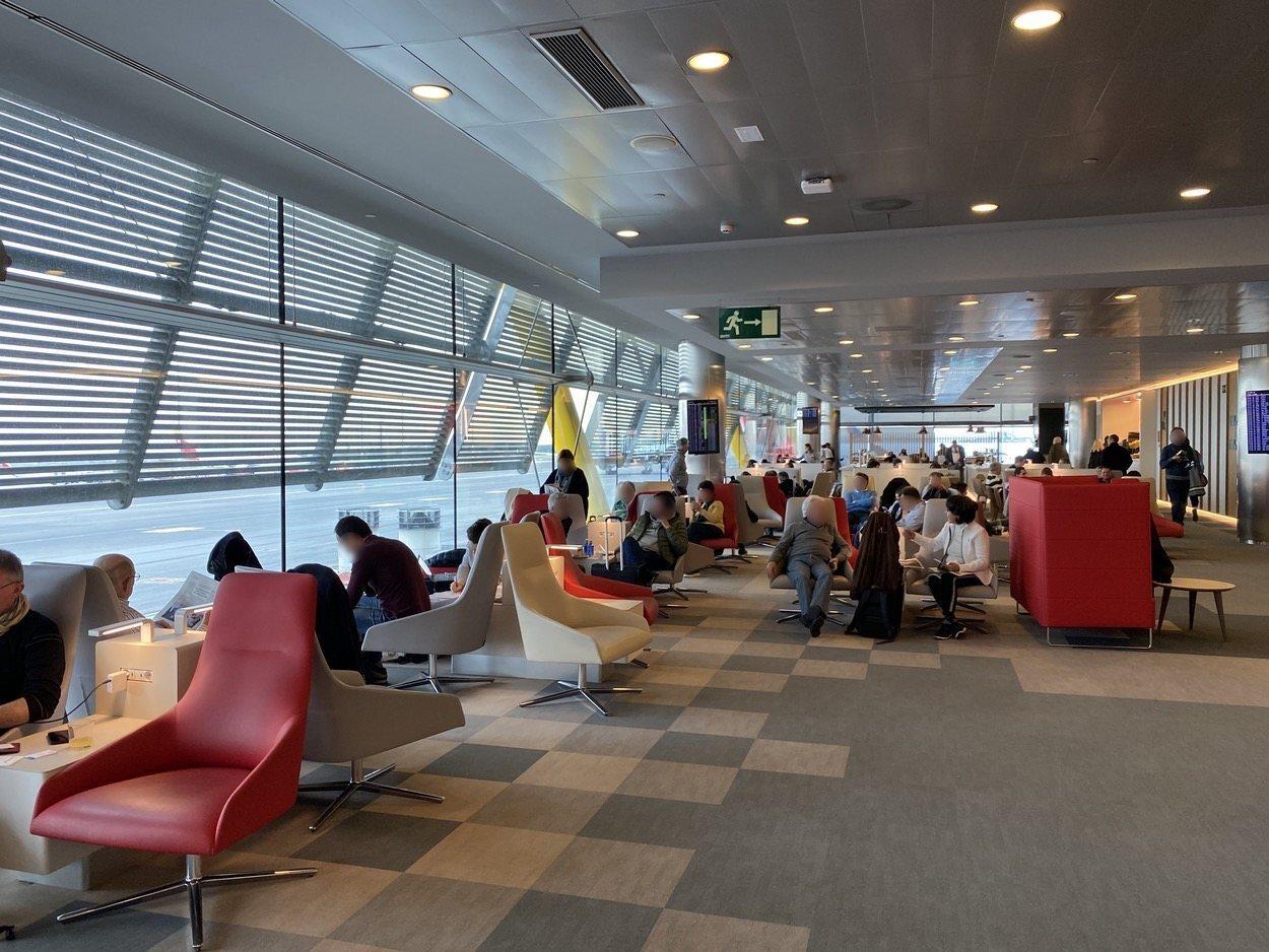 Vista general de la Sala VIP Iberia T4S