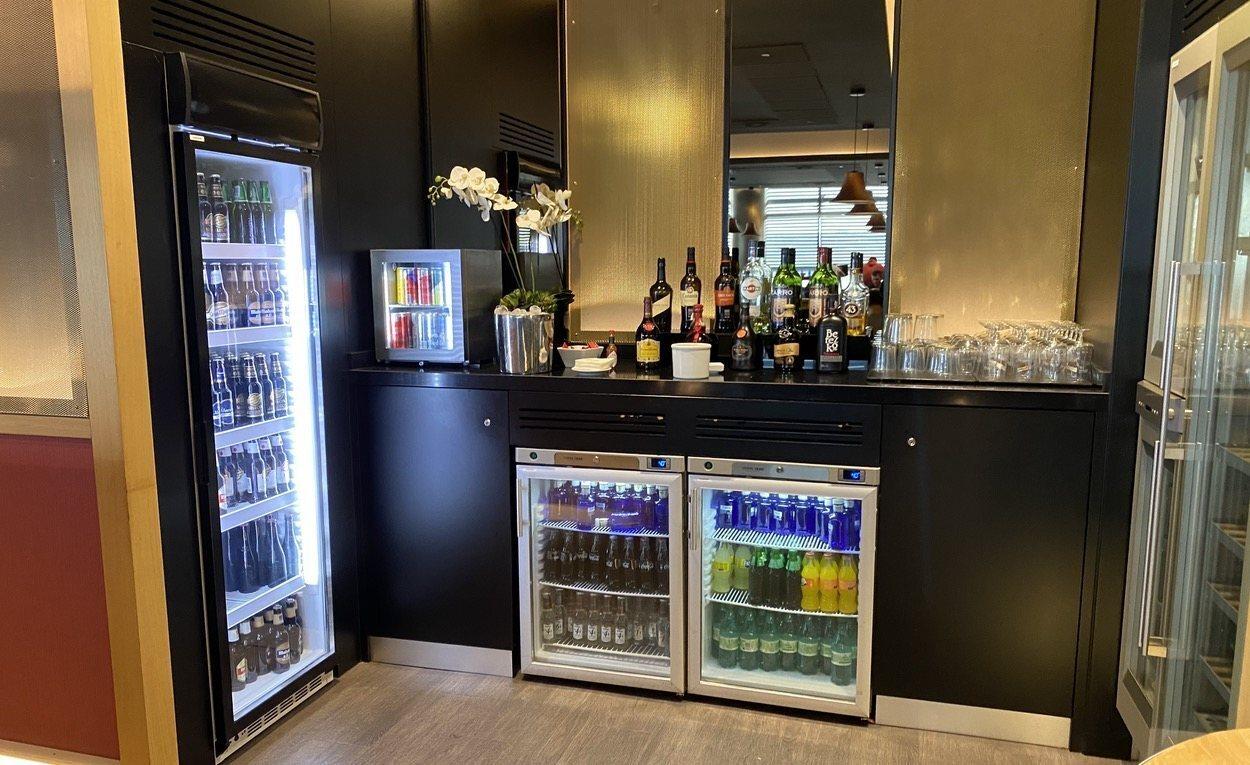 Refrescos, cervezas, bebidas alcoholicas... la selección es abundante.
