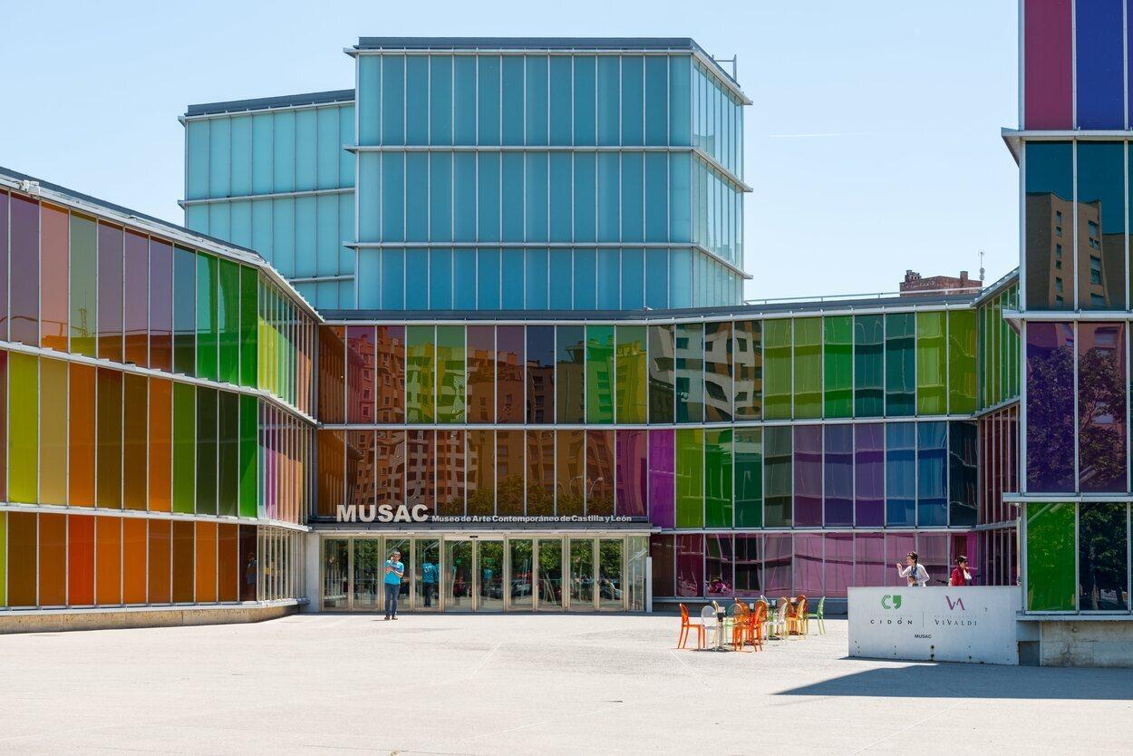 El MUSAC, el Museo de Arte Contemporáneo de León