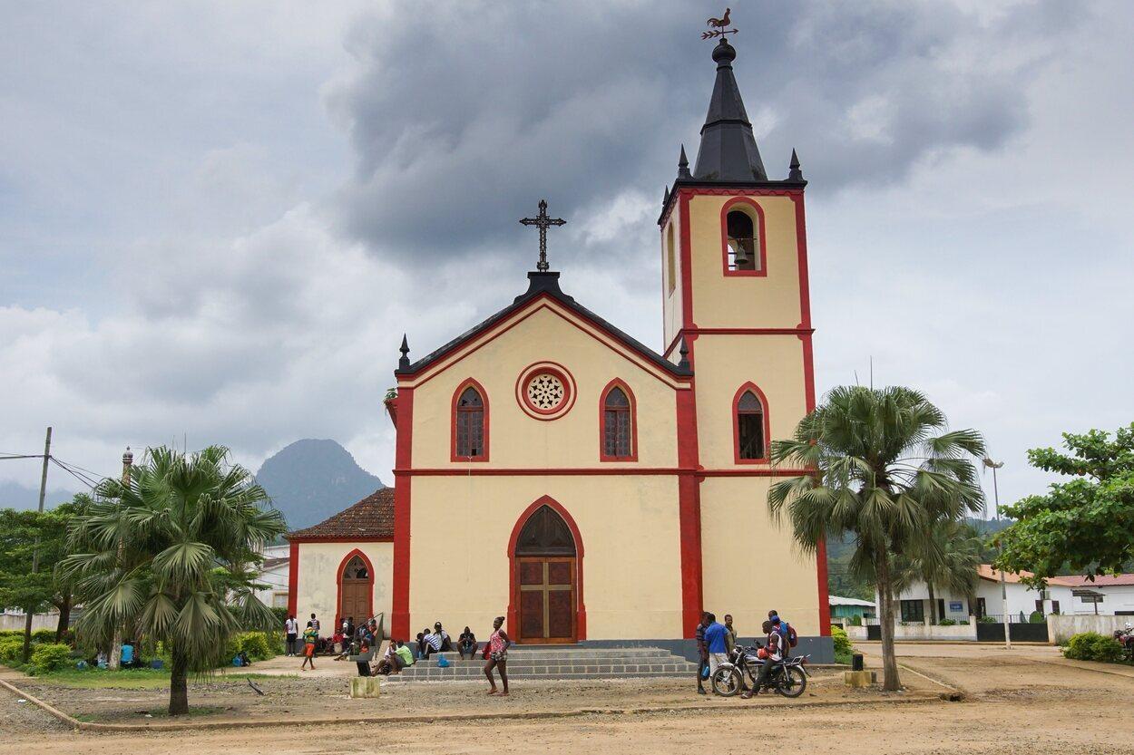Iglesia de San Antonio en Santo Tomé y Príncipe