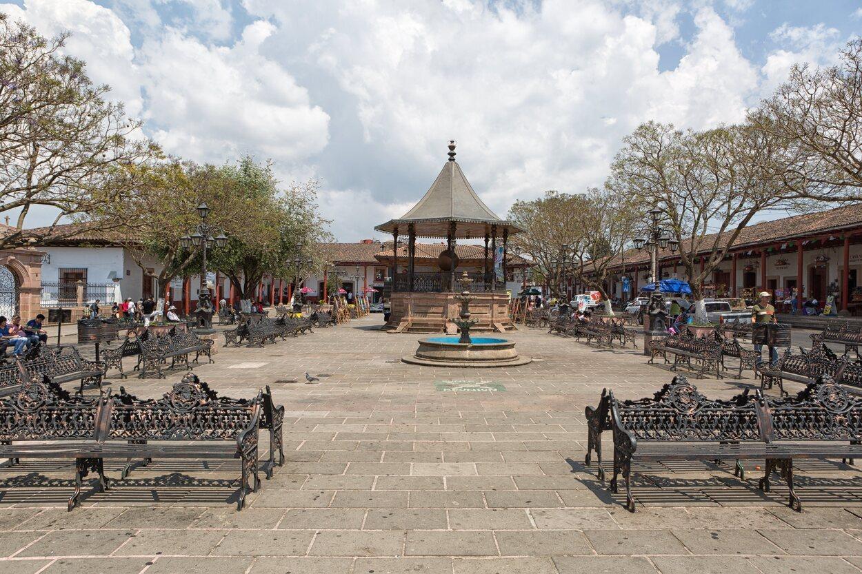 Santa Clara de Cobre, municipio de Salvador Escalante