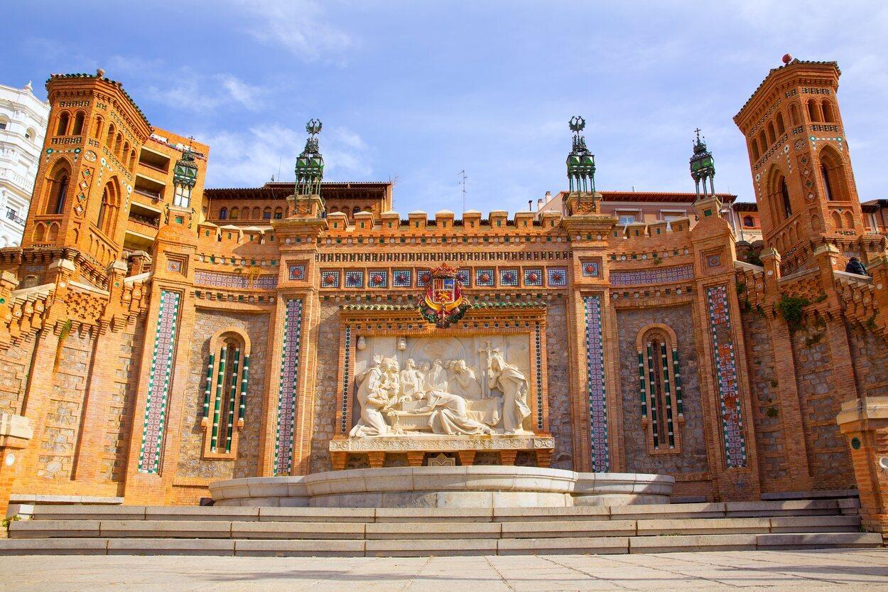 Fuente de los Amantes de Teruel situada en Teruel