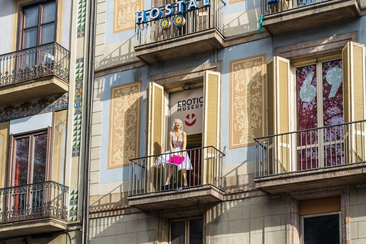El Museo Erótico de Barcelona situado en La Rambla fue abierto en el año 1997