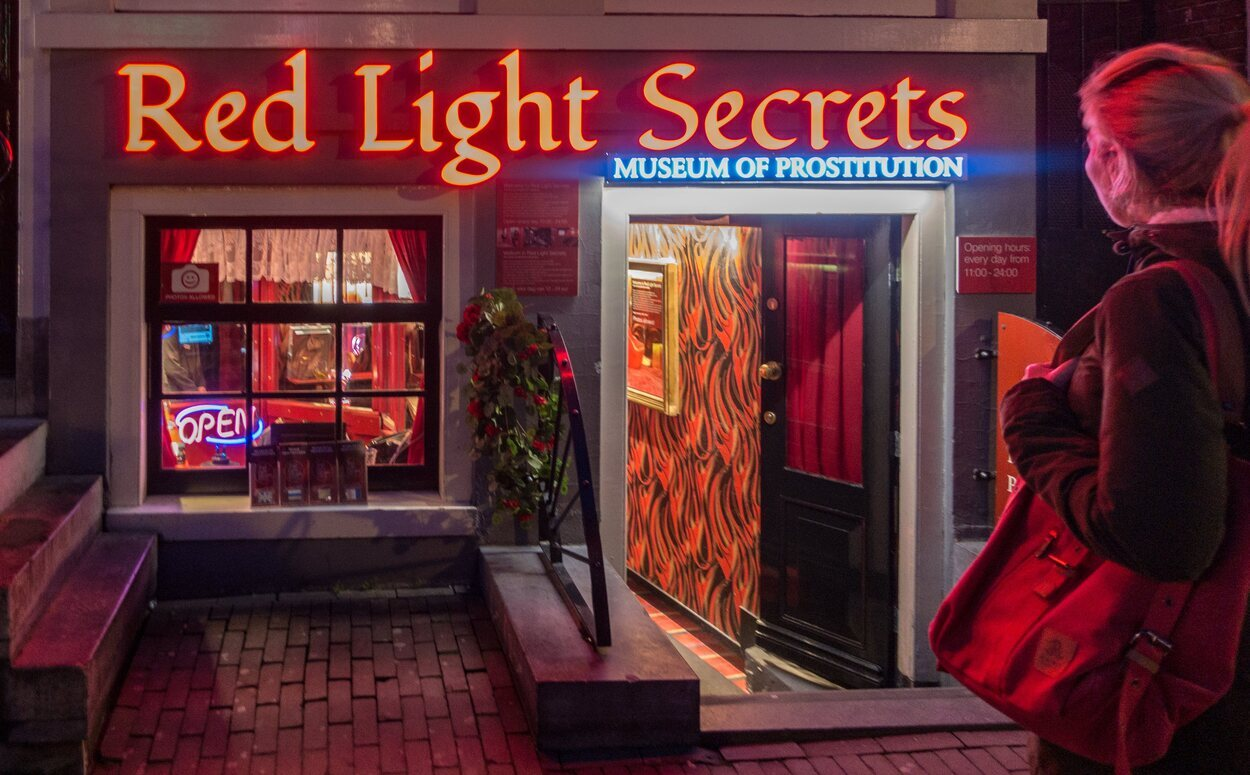 Museo Red Lights Secrets en Amsterdam está dedicado a la prostitución