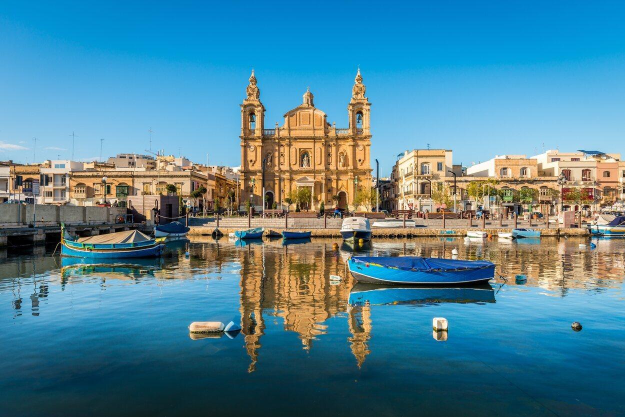 Iglesia de Sliema en Malta