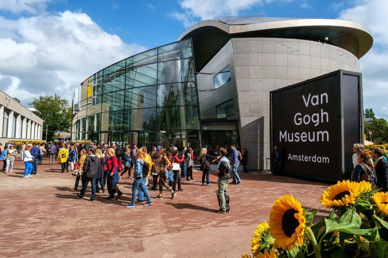 Museo Van Gogh situado en Ámsterdam
