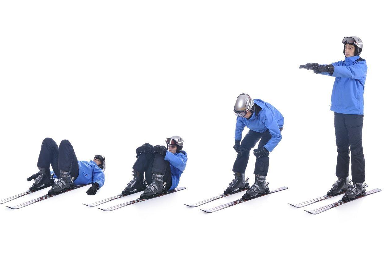 Hay que aplicarse crema solar de, como mínimo, protección 50 al menos 15 minutos antes de empezar a esquiar.