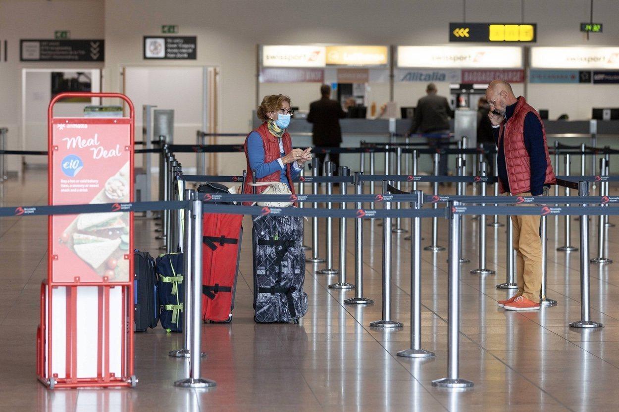 Los aeropuertos, afectados por el coronavirus
