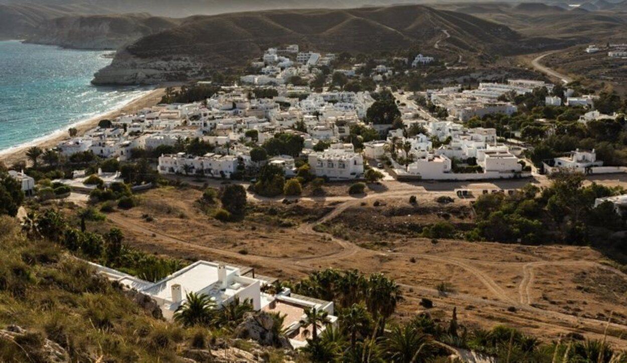 El pueblo de Agua Amarga es muy conocido en la costa almeriense