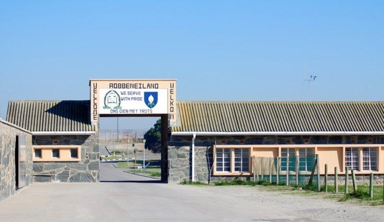 La prisión de Robben Island en la que estuvo Nelson Mandela