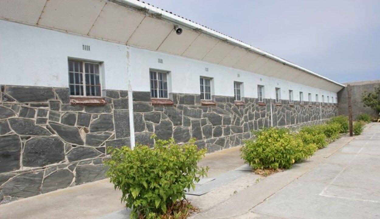 La prisión de Robben Island estaba dirigida por el Apartheid