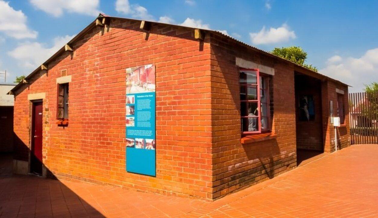 La casa de Nelson Mandela de Johannesburg cuando era joven
