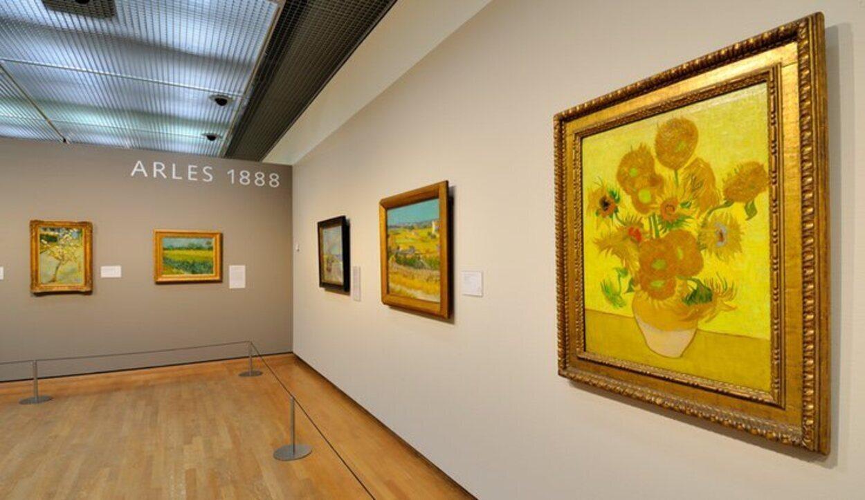 El Museo Van Gogh recoge la obra del pintor famoso por sus impresionantes girasoles