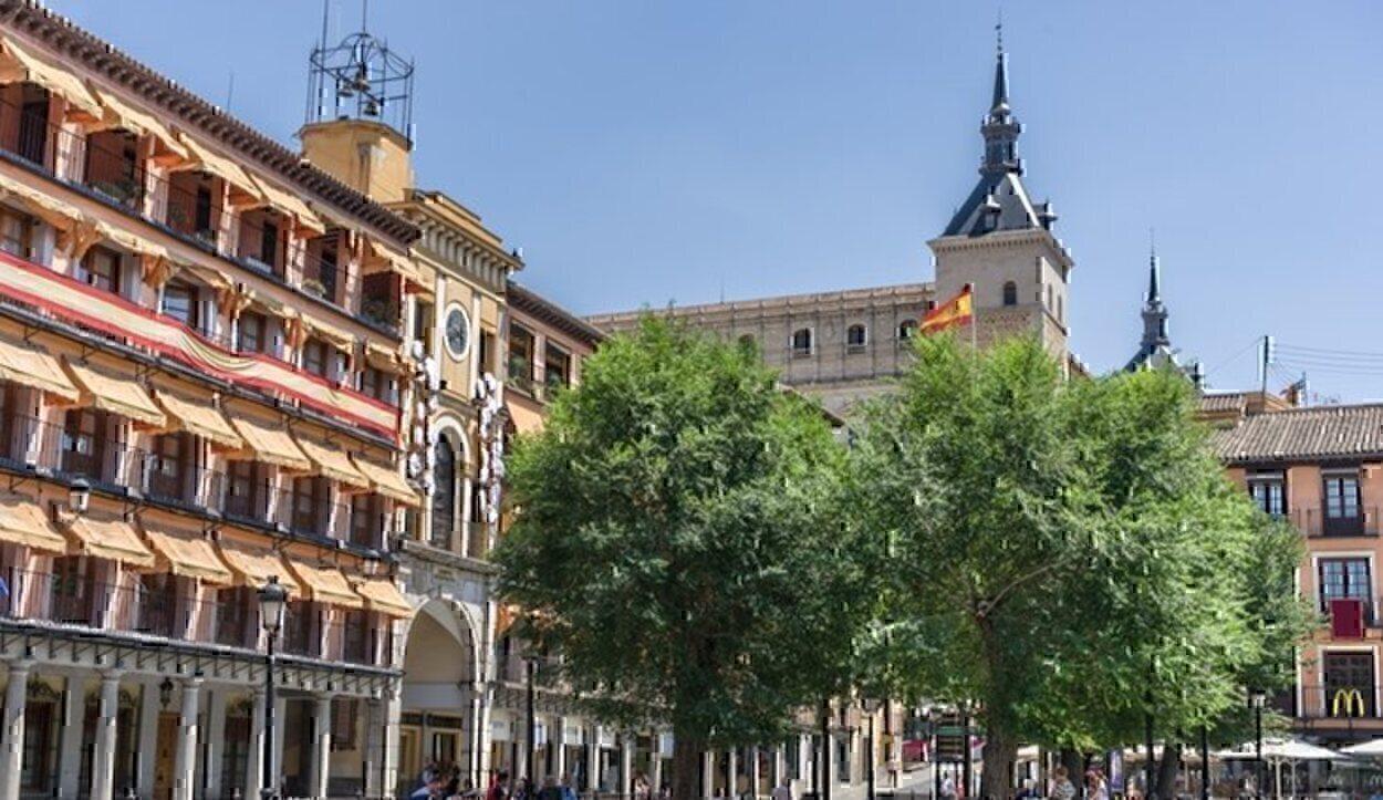 Porticadas de la Plaza de Zocodover de Toledo