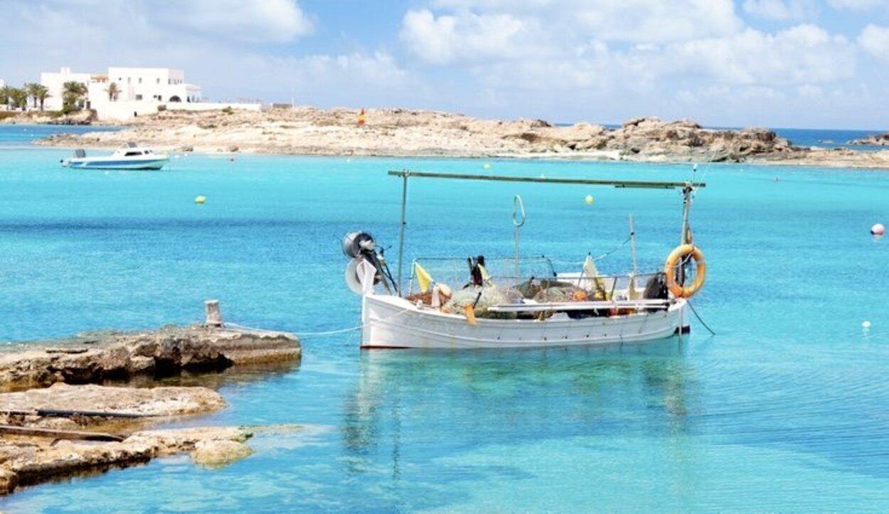 Playa Els Pujols de Formentera