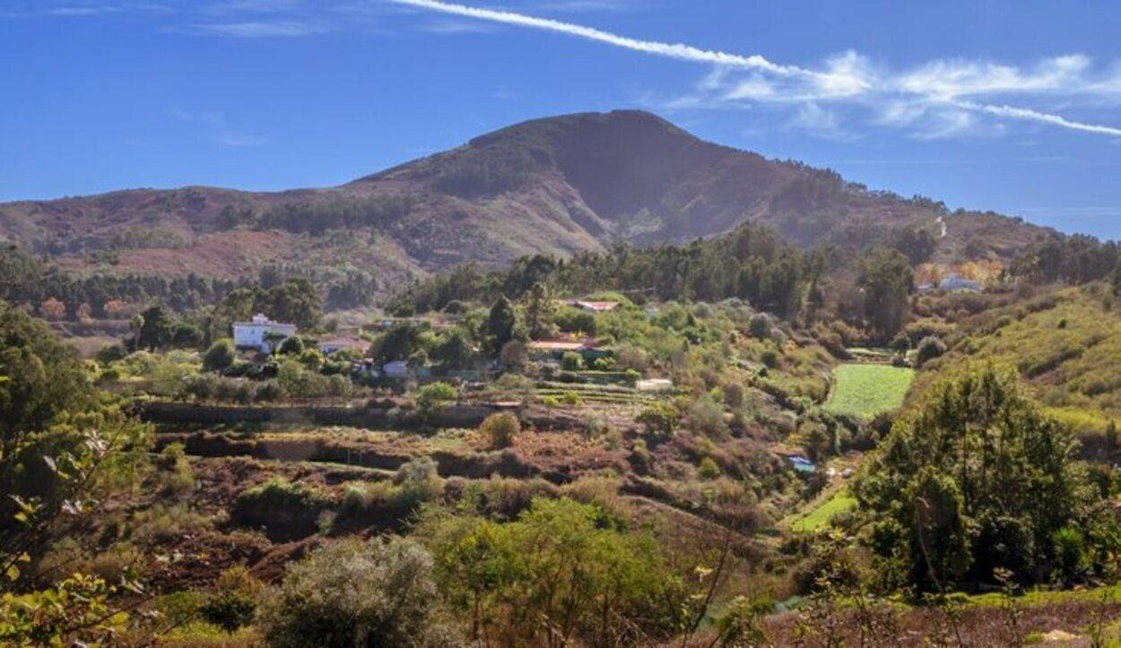Altos del Roque Bentayga de la isla de Gran Canaria
