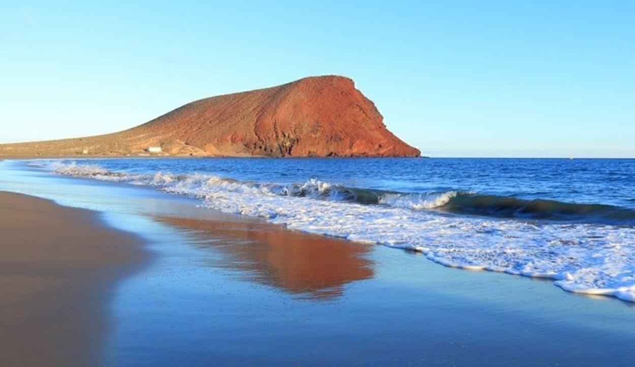 Playa de la Tejita en la isla de Tenerife