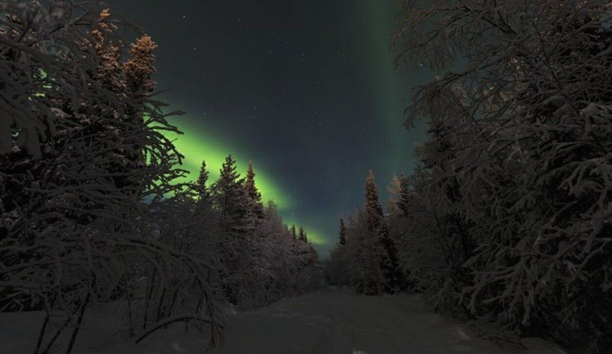 El bonito espectáculo de las auroras boreales