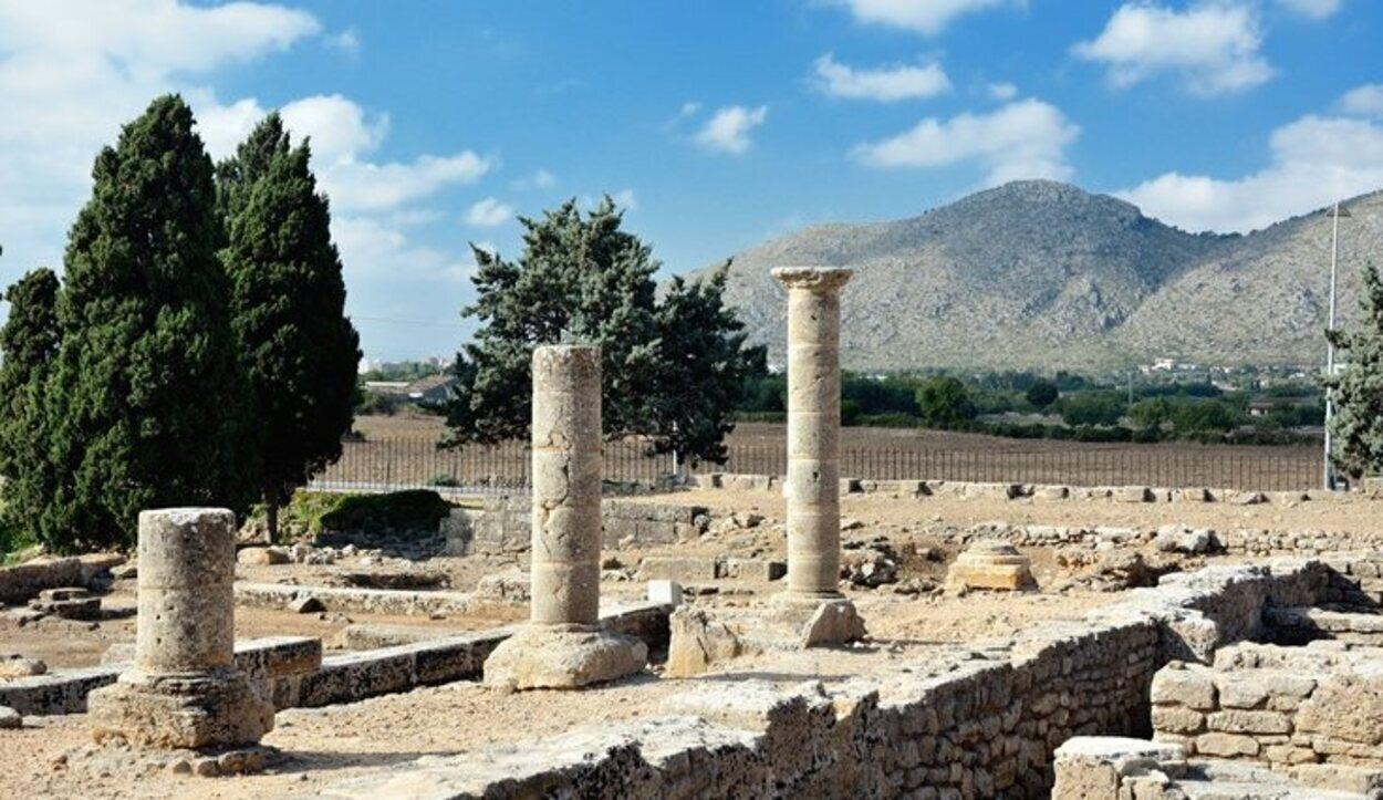 Yacimientos y restos arqueológicos de Pol·lèntia, nombre romano de Alcúdia