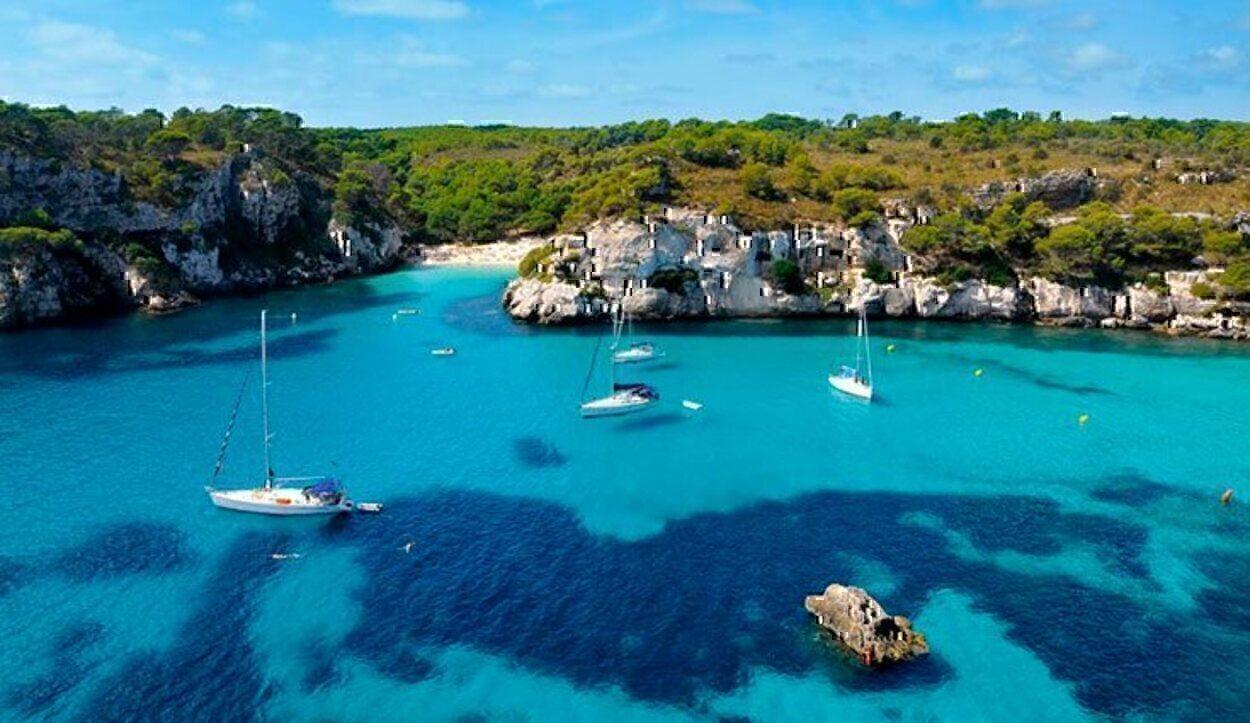 Menorca es un poco más cara que Ibiza, pero menos masificada