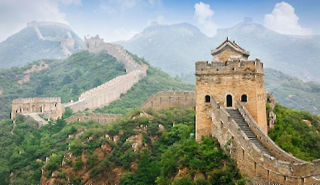 La Gran Muralla China es una de las siete maravillas del mundo moderno