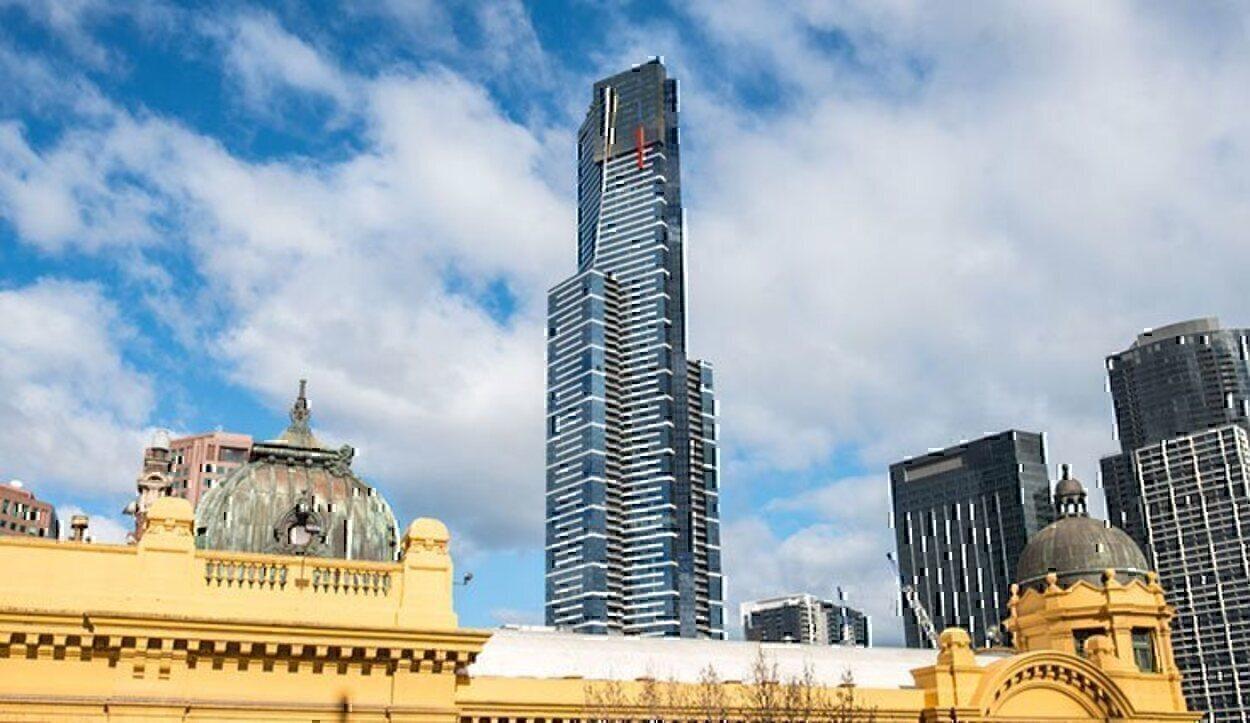 La Torre Eureka fue durante 6 años el edificio residencial más alto del mundo