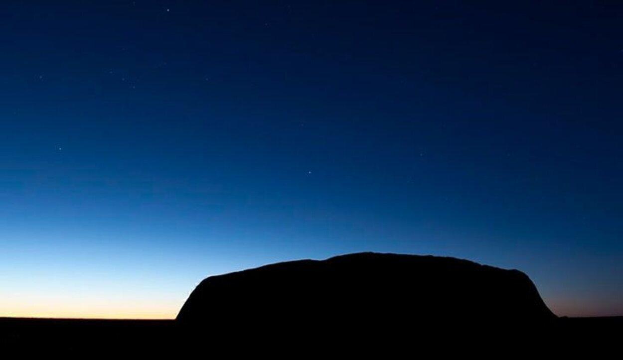 En el Parque Nacional Uluru-Kata Tjuta se encuentra Ayers Rock, o Uluru