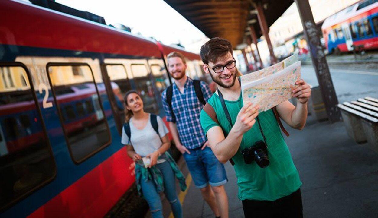 Interrail es una forma barata y divertida de recorrer Europa en tren
