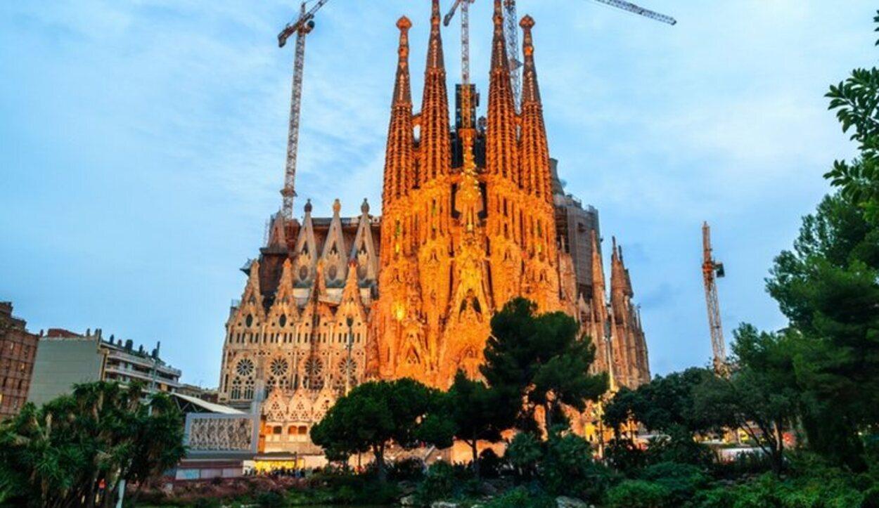 La visita de la Sagrada Familia es obligatoria si vamos a Barcelona