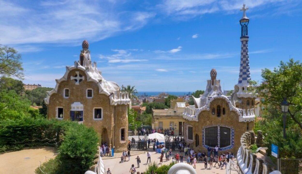 El Parc Güell es uno de los lugares más visitados de Barcelona