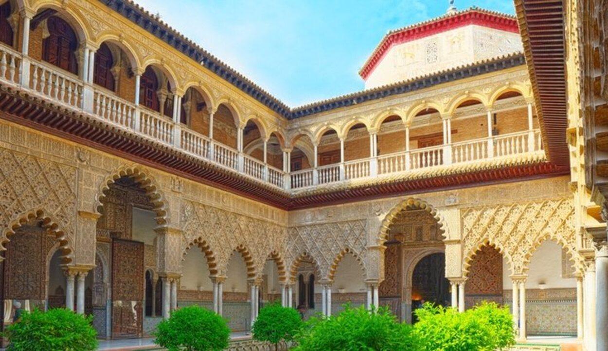 El interior del Real Alcázar de Sevilla