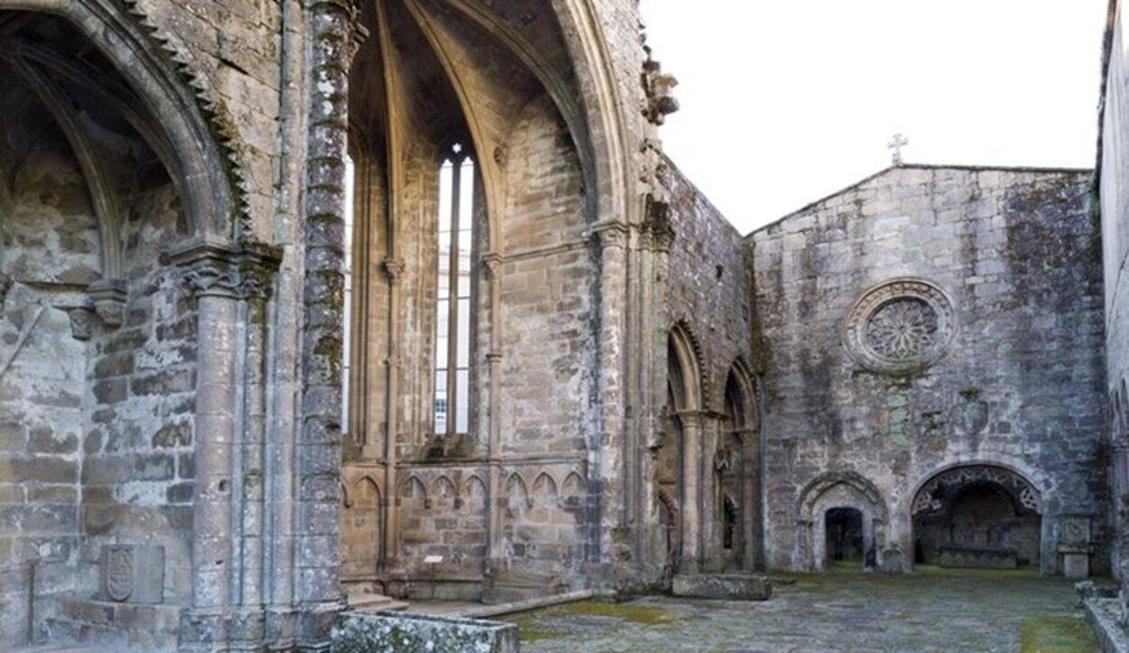 Del Convento de Santo Domingo sólo se conservan algunas partes, como la iglesia y las tumbas