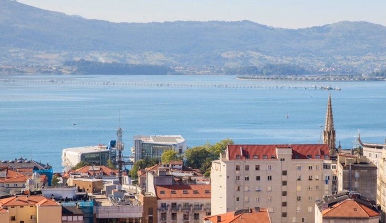 Santander está emplazada junto a una bahía