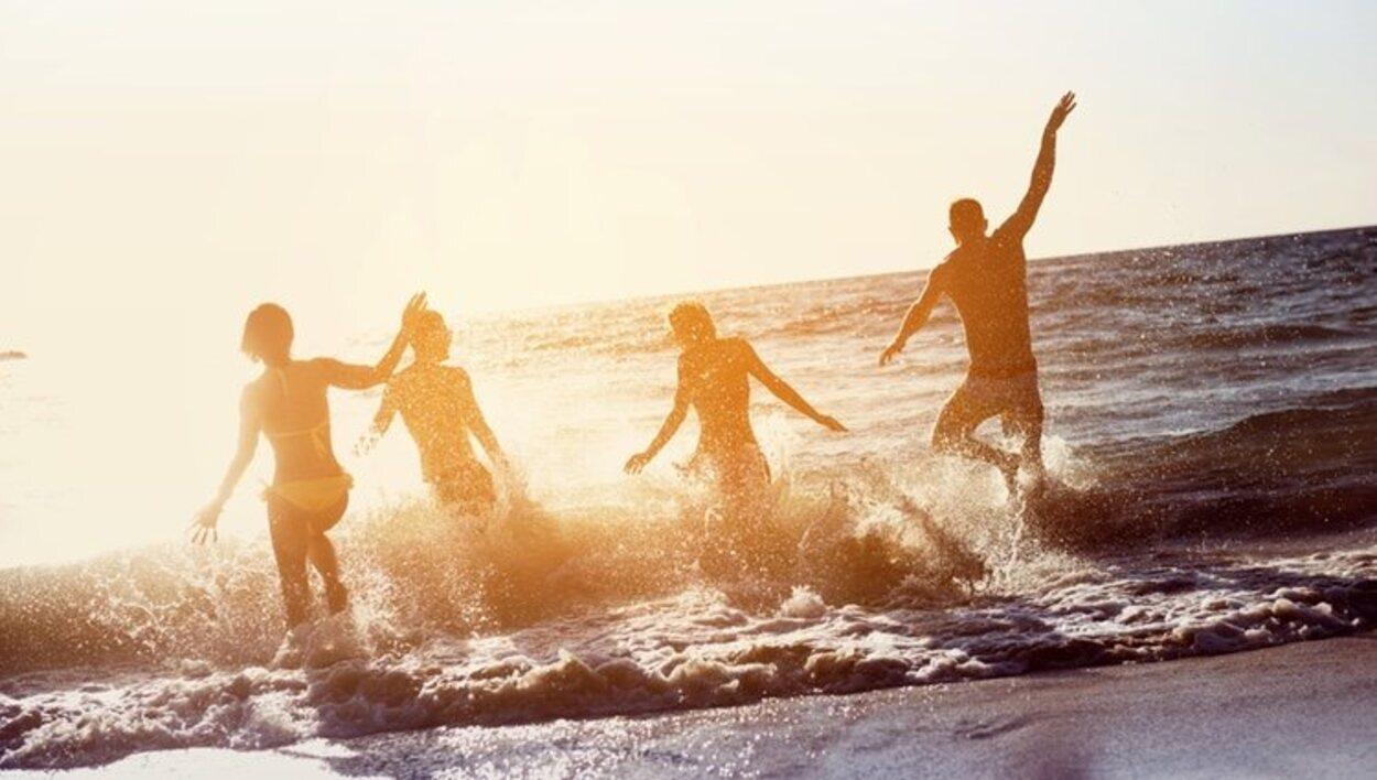 Disfrutar en vacaciones con amigos es una de las mejores elecciones