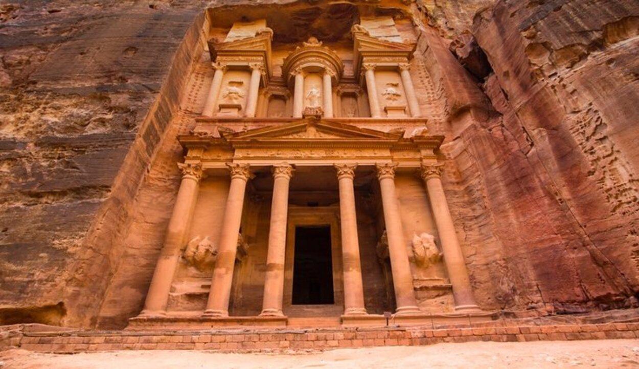 El enclave de Petra se ha mantenido tal y como estaba conservado durante la ocupación romna
