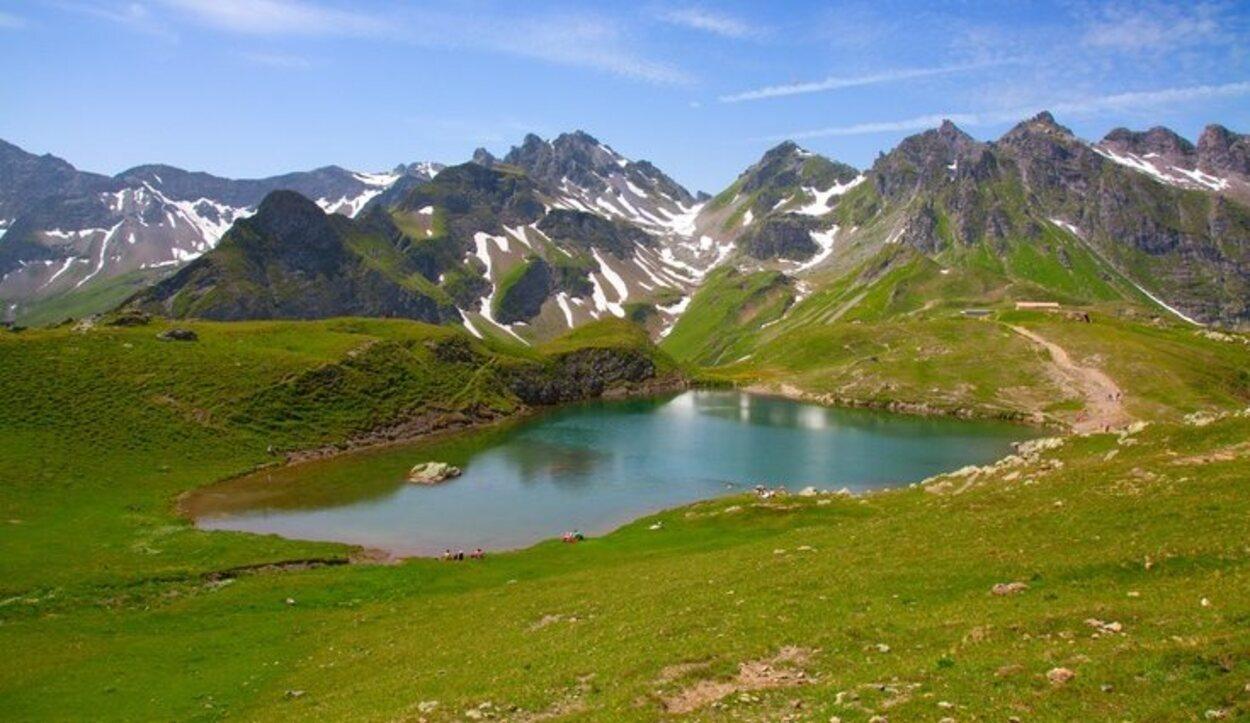 El punto de partida de la ruta de Suiza varía en función de cómo se llegó hasta el país