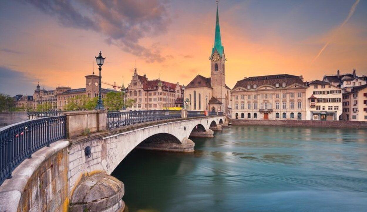 Zúrich es considerada una de las ciudades del mundo con mejor calidad de vida