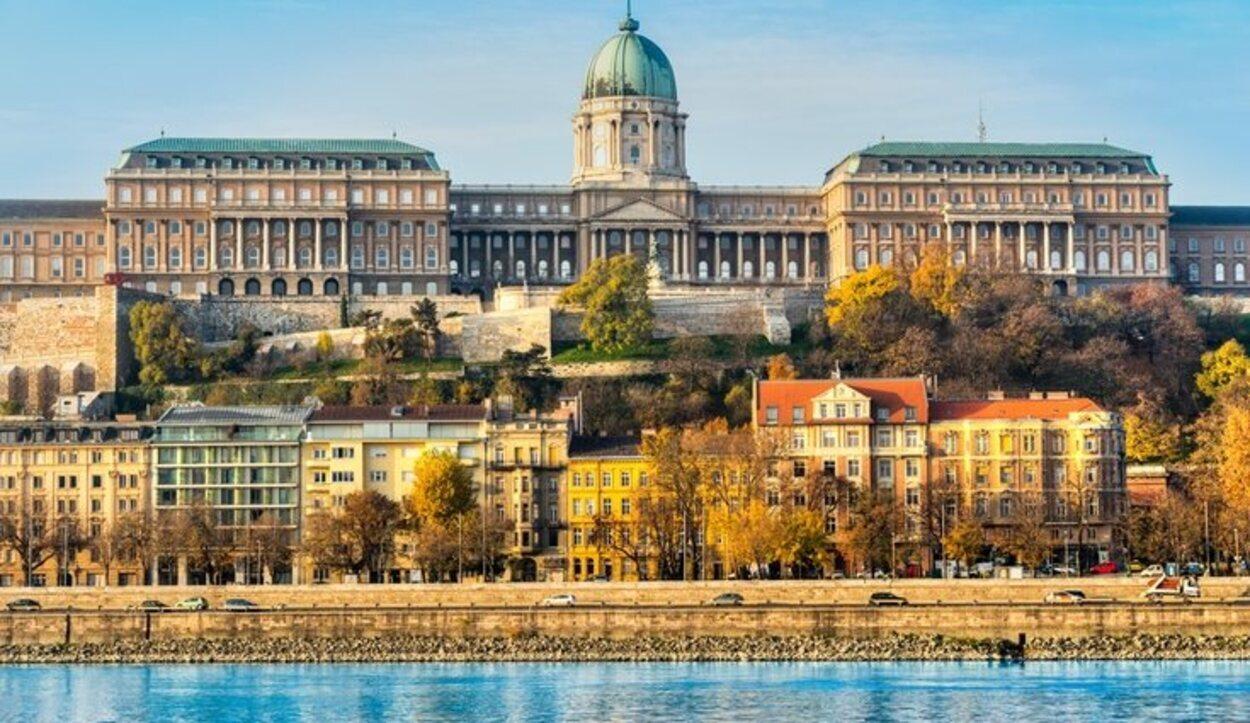 El Castillo de Buda fue el antiguo palacio real de la Dinastía Húngara