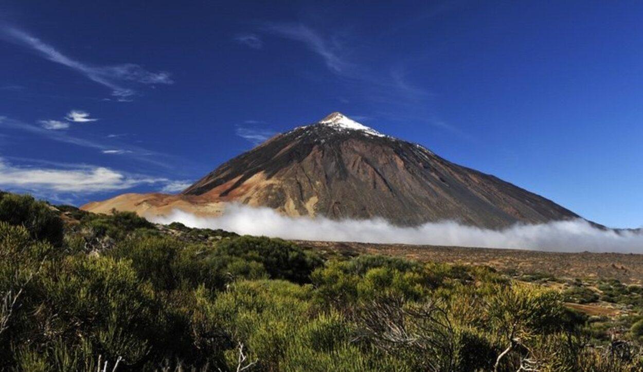 En el Parque Nacional del Teide se encuentra la montaña más alta de España