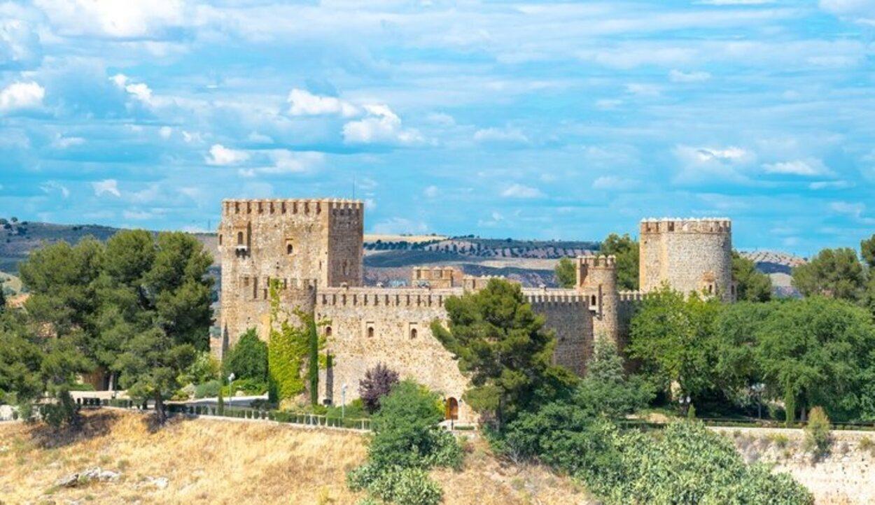 El Castillo de San Servando tiene un emplazamiento único