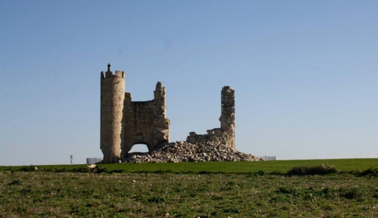 El de Caudilla es uno de los castillos más deteriorados de Toledo