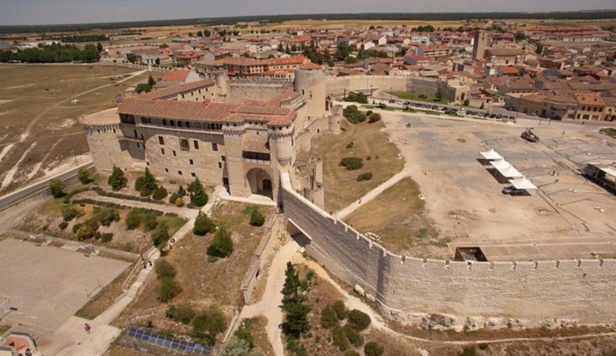 La muralla de Cuéllar ha tenido que ir siendo reformada con el paso de los años