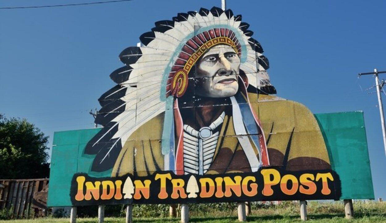 Las tribus indias eran características de Oklahoma