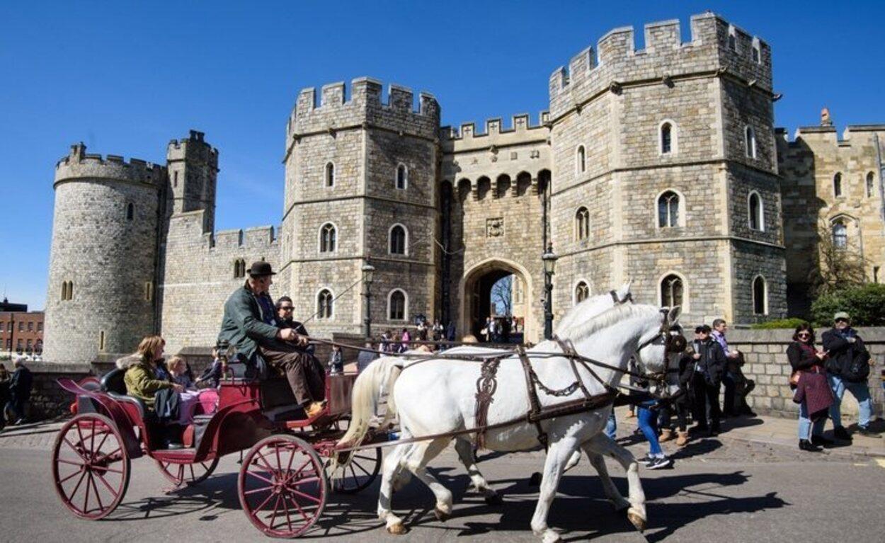 Entrada principal del Castillo de Windsor