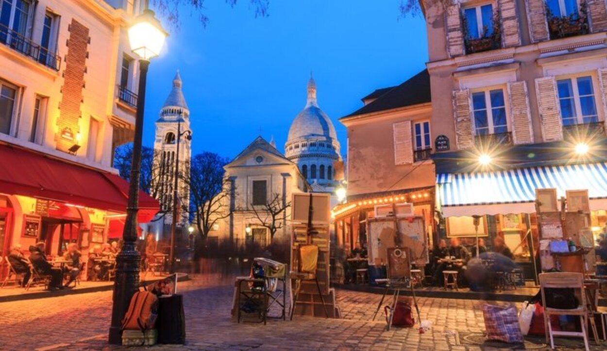 Montmartre es uno de los barrios con más encanto de la ciudad